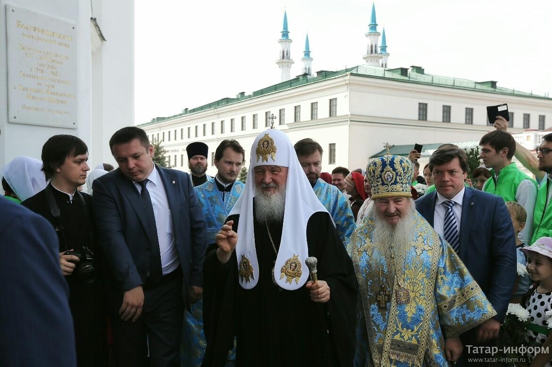 Крестный ход в честь Казанской иконы Божией Матери прошел в Казани