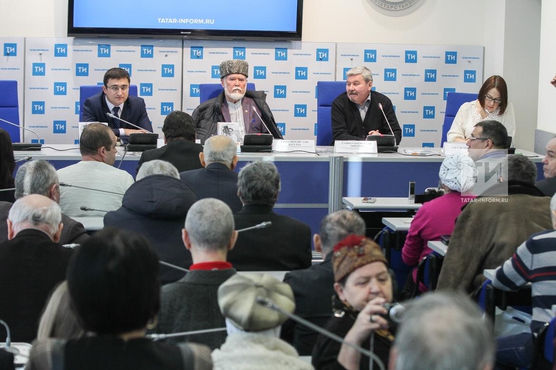 """П-к, посвященная изданию книги Рабита Батуллы """"Илбашы"""""""