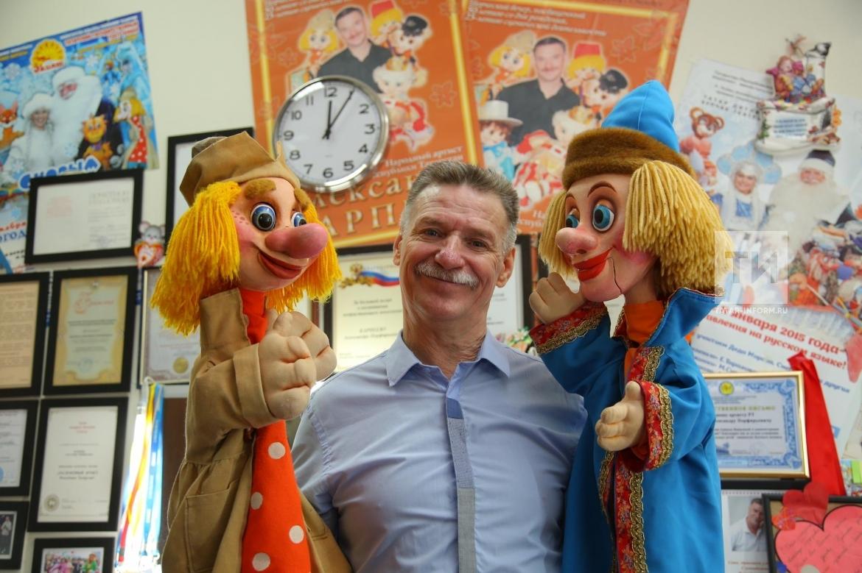 Интервью с артистом театра кукол