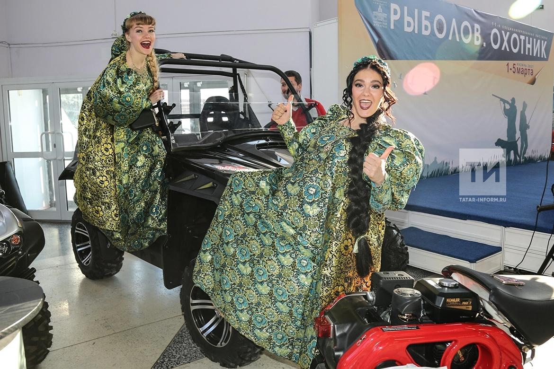 На «Казанской ярмарке» открылась выставка «Рыболов. Охотник».
