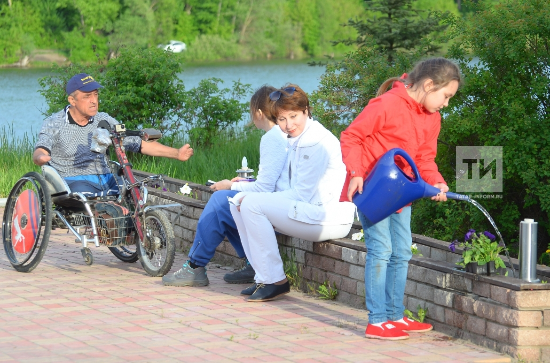 Волгоградский хендбайкер Алексей Костюченко – посол мира международного велопробега
