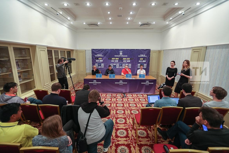 П/к Мировая лига по волейболу в Казани