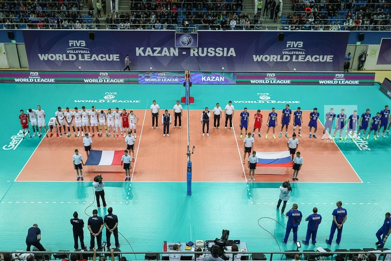 Волейбол. Мировая лига ФИВБ 2017. Россия - Франция