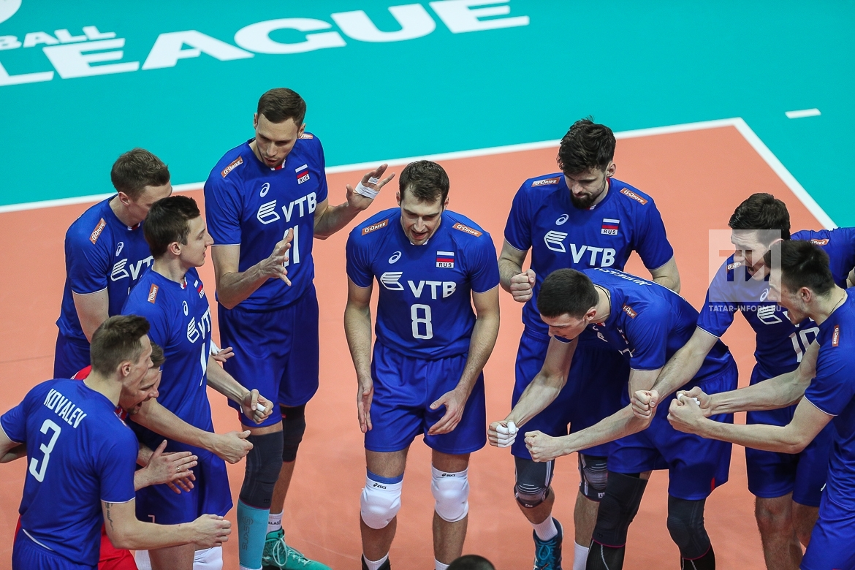 Волейбол. Мировая лига ФИВБ 2017. Россия - Болгария