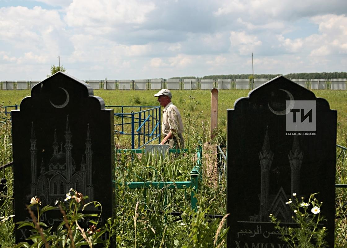 Татарское кладбище д. Сингели Лаишевского района