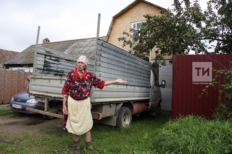Конфликт между соседями в п.Васильево