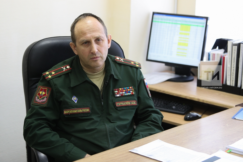 Интервью с начальником отдела Военного комиссариата РТ  Дмитрием Гурылевым