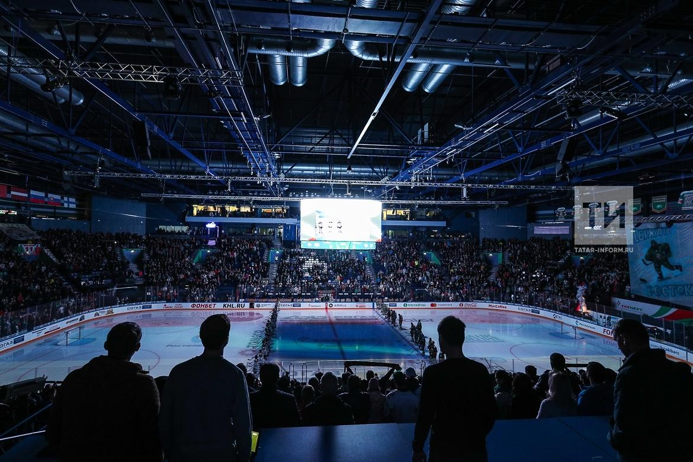 Матч КХЛ: ХК Ак Барс - ХК Металлург (Магнитогорск)