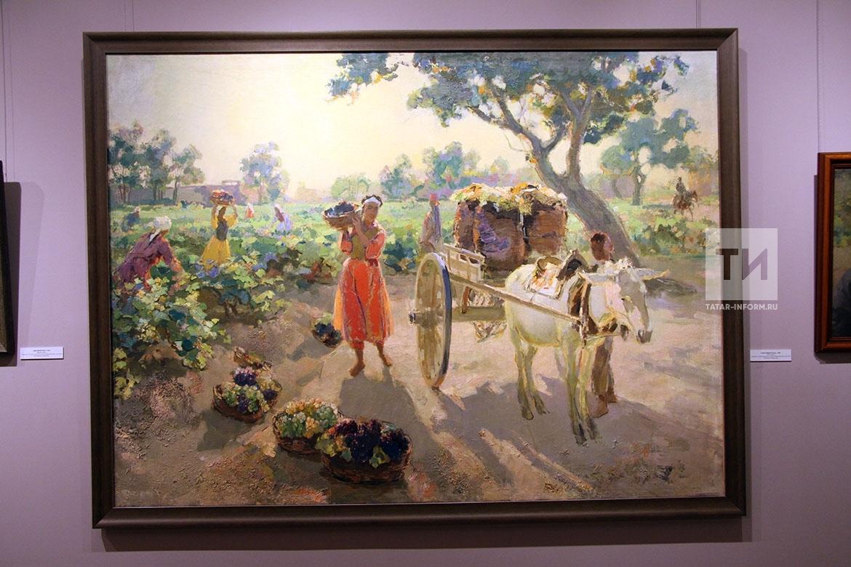 Открытие выставки Баки Урманче