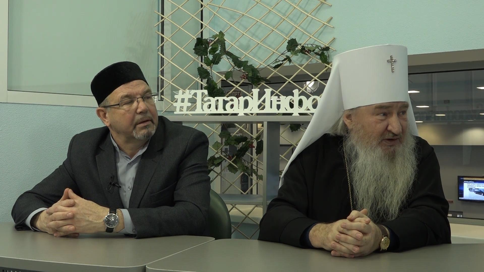 «Пятница, с 13-го»: митрополит Феофан и ректор РИИ Рафик Мухаметшин