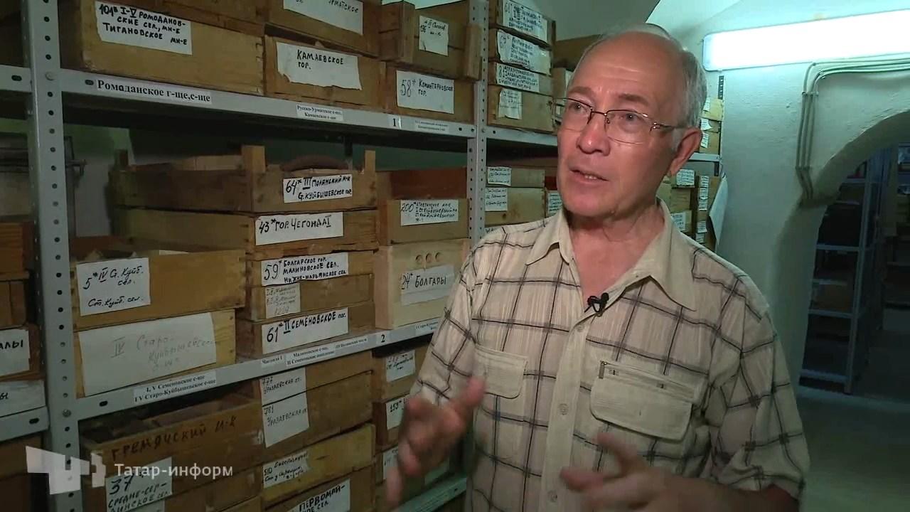Интервью с член-корреспондентом АН РТ, археологом Фаязом Хузиным