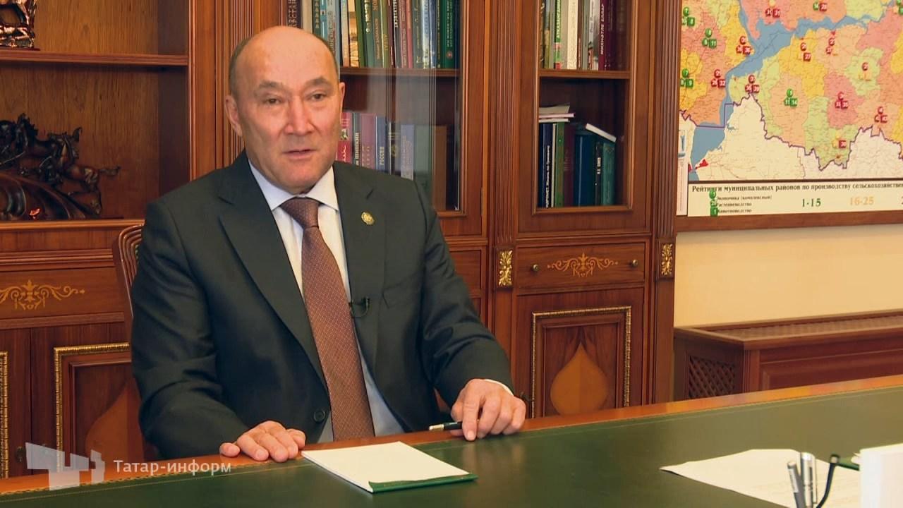 Интервью с министром сельского хозяйства Маратом Ахметовым