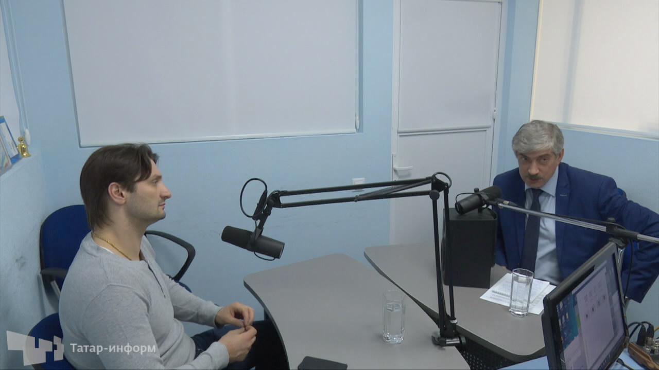 Беседа с Эдгаром Запашным на Радио Спорт FM Казань