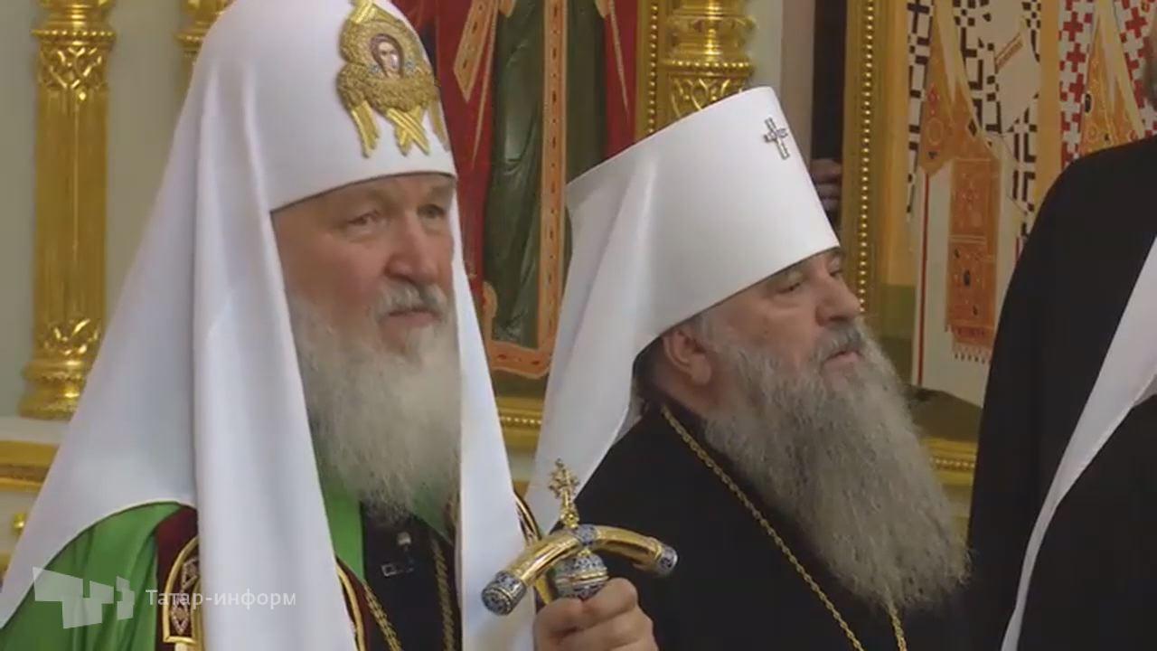 Проповедь патриарха Кирилла в Свияжске