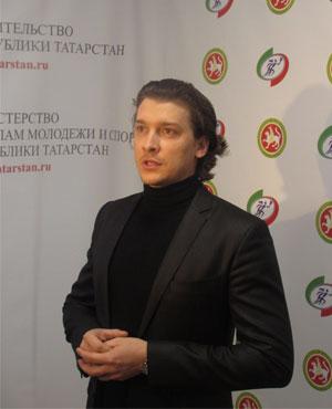 Президентская елка в Казани 2016. Михаил Волконадский
