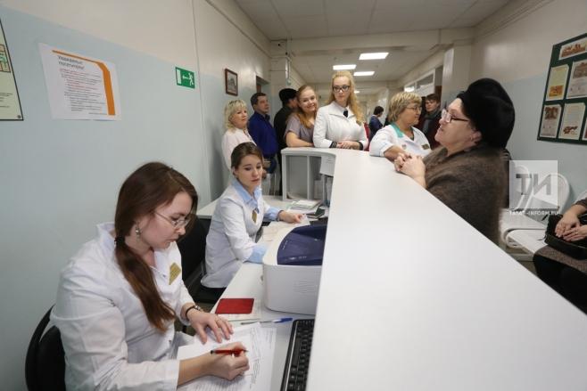На смену регистратурам в поликлиниках РТ придут инфоматы и call-центры