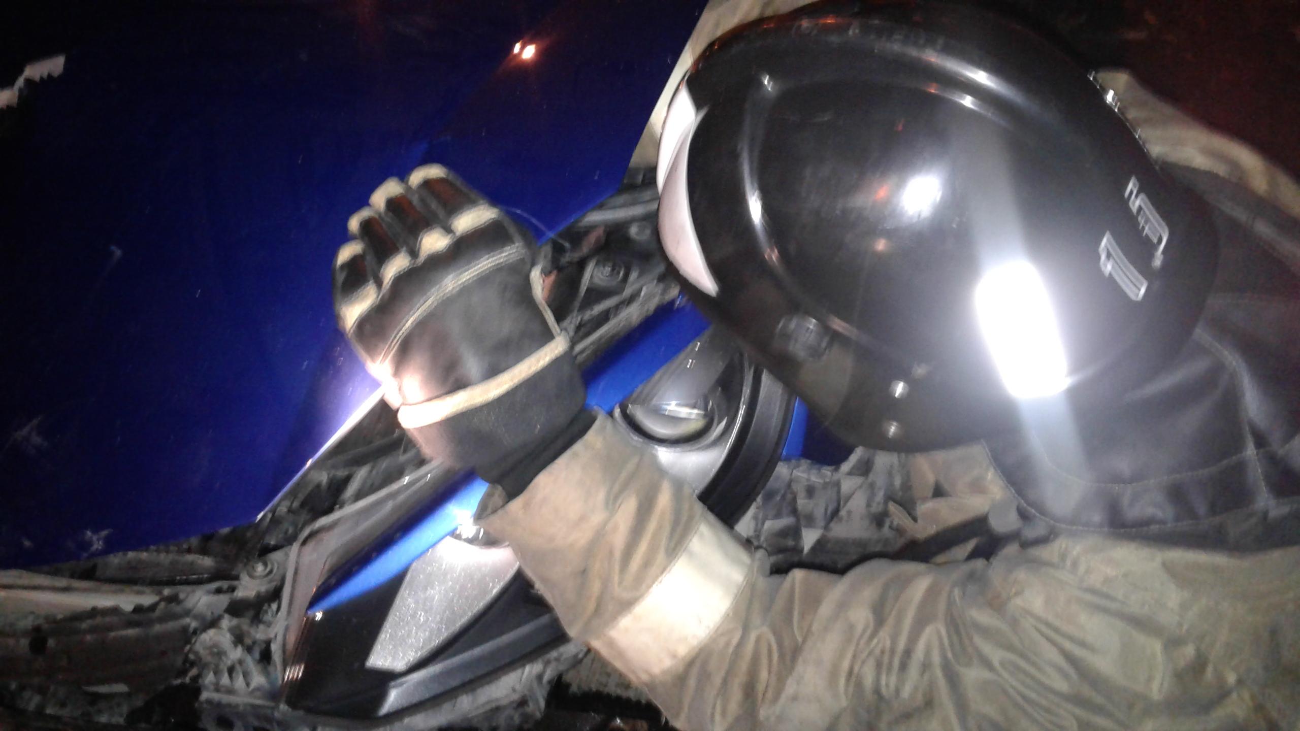 В Альметьевске четыре человека пострадали при столкновении четырех машин